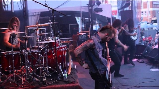 As I Lay Dying performing Forever live at D-Tox Rockfest 2012