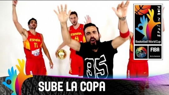 Sube la copa (Official song of the FIBA Basketball World Cup Spain 2014)