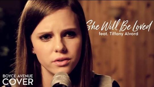 She Will Be Loved (feat  Tiffany Alvord) - Boyce Avenue